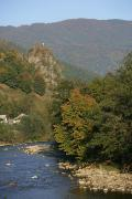 Kostylivka. Lovers rock Kuziysky array, Zakarpattia Region, Rivers