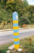 Lug. Border post on border with Romania, Zakarpattia Region, Roads