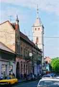 Mukacheve. Street of Duhnovich, Zakarpattia Region, Cities