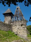 Nevytske. Ruins of castle towers Nevytske, Zakarpattia Region, Fortesses & Castles