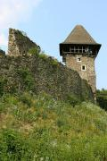 Nevytske. South tower and castle wall Nevytske, Zakarpattia Region, Fortesses & Castles