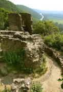 Nevytske. Ruins of castle over river Nevytske Uzh, Zakarpattia Region, Fortesses & Castles