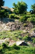 Novoselytsia. Chalk marl local quarry, Zakarpattia Region, Geological sightseeing