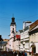Uzhgorod. On street Voloshyn, Zakarpattia Region, Cities
