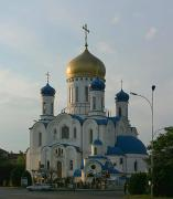 Uzhgorod. New Orthodox cathedral, Zakarpattia Region, Churches