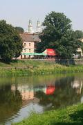 Uzhgorod. These bell tower visible from all sides, Zakarpattia Region, Rivers