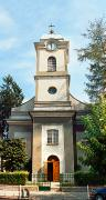 Hust. Bell tower of church of St. Anna, Zakarpattia Region, Churches