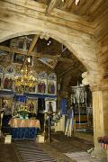 Yasinia. Interior Strukivska Church, Zakarpattia Region, Churches