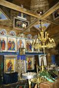 Yasinia. Iconostasis Ascension, Zakarpattia Region, Churches