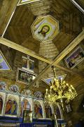 Yasinia. Under arch of Church of Ascension of Christ, Zakarpattia Region, Churches