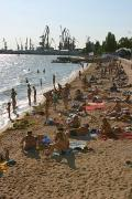 Berdiansk. 10-meter tape of city beach, Zaporizhzhia Region, Cities