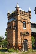 Vasylivka. Square tower of hunting palace, Zaporizhzhia Region, Country Estates