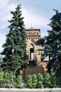 Vasylivka. Spruce frame observation tower, Zaporizhzhia Region, Country Estates