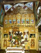Vorokhta. The iconostasis of the Church of Peter and Paul, Ivano-Frankivsk Region, Churches