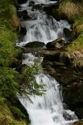 Carpathian NNP. A picturesque fragment of a mountain stream, Ivano-Frankivsk Region, National Natural Parks