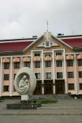Kosiv. Building of the Kosiv District State Administration, Ivano-Frankivsk Region, Rathauses