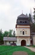 Maniavsky monastery. Gate tower (view from the skete), Ivano-Frankivsk Region, Monasteries