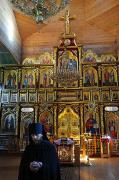 Maniavsky monastery. Holy Cross Cathedral - iconostasis, Ivano-Frankivsk Region, Peoples