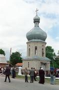 Stopchativ. Bell tower of the church of St. Nicholas, Ivano-Frankivsk Region, Churches