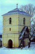 Shevchenkove. Tower-bell tower of the church of St. Panteleimon, Ivano-Frankivsk Region, Churches