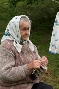 Sheshory. Traditional Grandma's occupation, Ivano-Frankivsk Region, Peoples